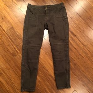 Marissa Webb Pants - MARISSA WEBB olive cargo skinny pants